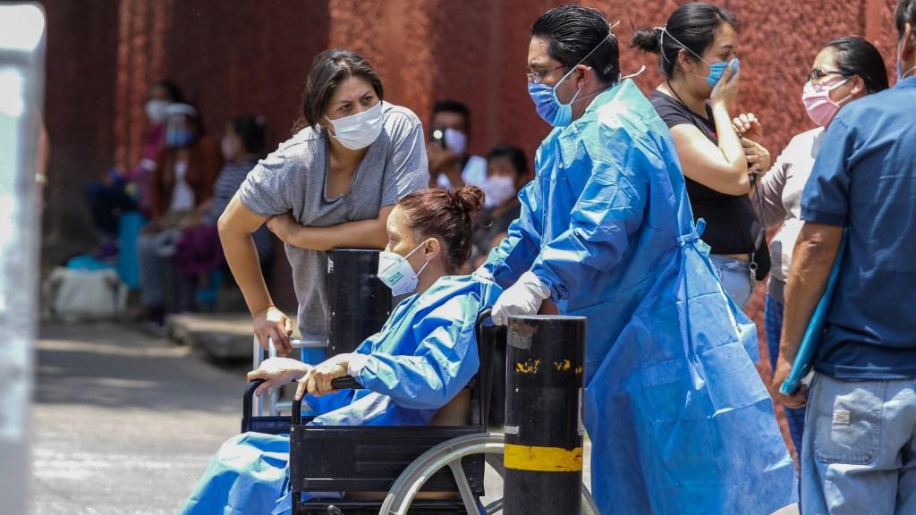 Preocupación por desconfinamiento; en las últimas 24 horas México registró 6 mil 891 casos nuevos y 668 decesos por COVID-19 - COVID-19 coronavirus México hospital salud