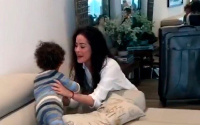 #Video Danna García supera COVID-19 tras dar positivo tres veces al virus - Danna García hijo coronavirus COVID-19