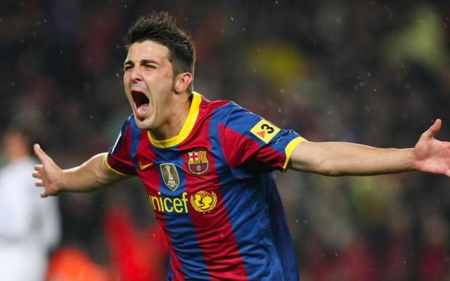 David Villa niega que quisiera salir del Valencia cuando se fue al Barcelona - David Villa niega que quisiera salir del Valencia cuando se fue al Barcelona