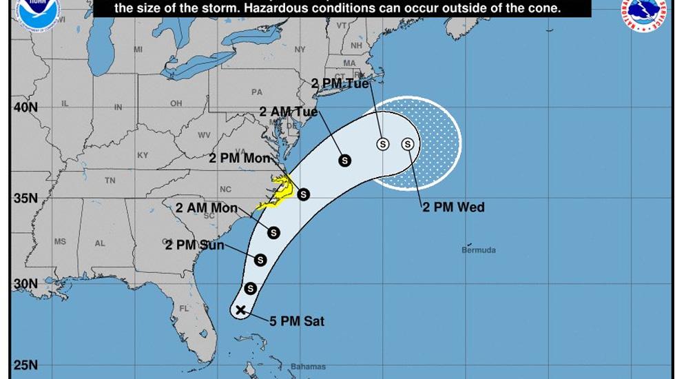 Se forma la Depresión Tropical número 1 en el Océano Atlántico Norte - Foto de NHC