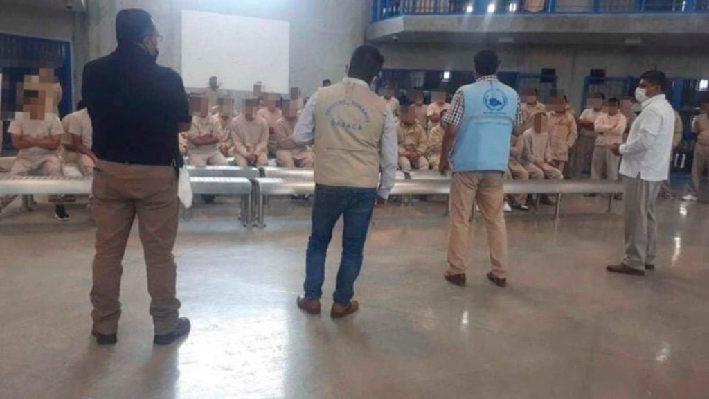 Detectan siete casos de COVID-19 en penal de Oaxaca - Detectan siete casos de COVID-19 en penal de Oaxaca