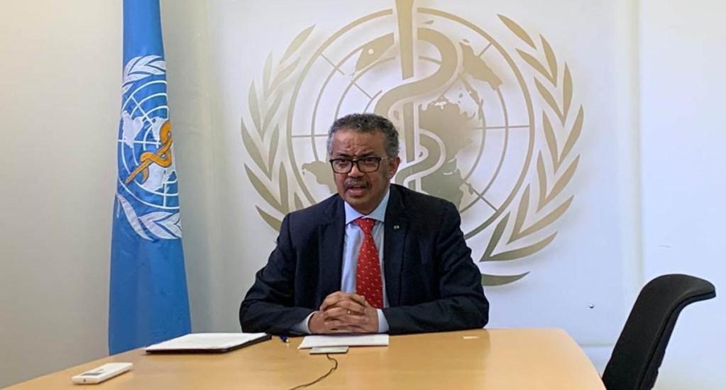 OMS es demasiado débil para lidiar con pandemias: panel independiente - Director general de la OMS. Foto de @DrTedros