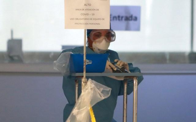 Son heroínas que salvan vidas: AMLO felicita a enfermeras - Foto de Notimex
