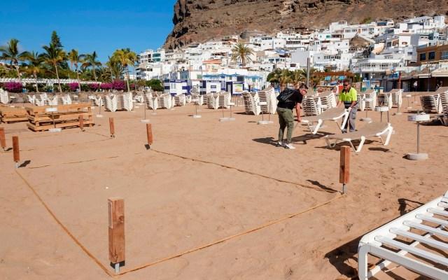 España estudia reapertura de playas pese a limitaciones por COVID-19 - España turismo coronavirus COVID-19