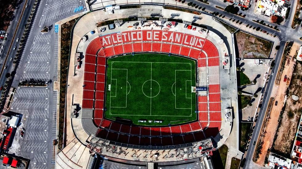 Atlético de San Luis aprueba cancelación del Clausura 2020 - Estadio Alfonso Lastras del Atlético de San Luis. Foto de @AtletideSanLuis