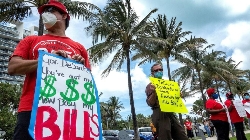 Estados Unidos entró en recesión oficialmente en febrero - Florida coronavirus Estados Unidos COVID-19