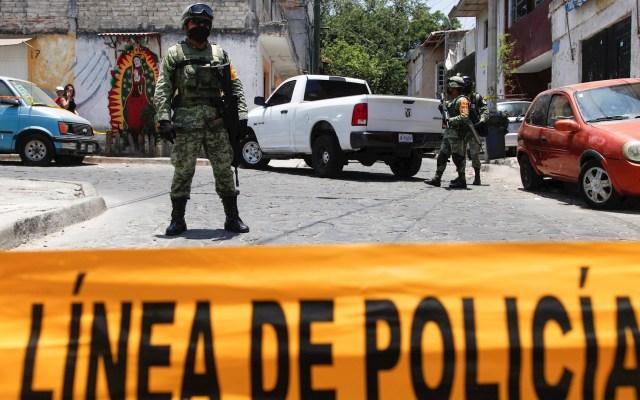 CNDH pide al Congreso regular a Fuerzas Armadas en tareas de seguridad pública - Guadalajara Jalisco disparos ataques violencia