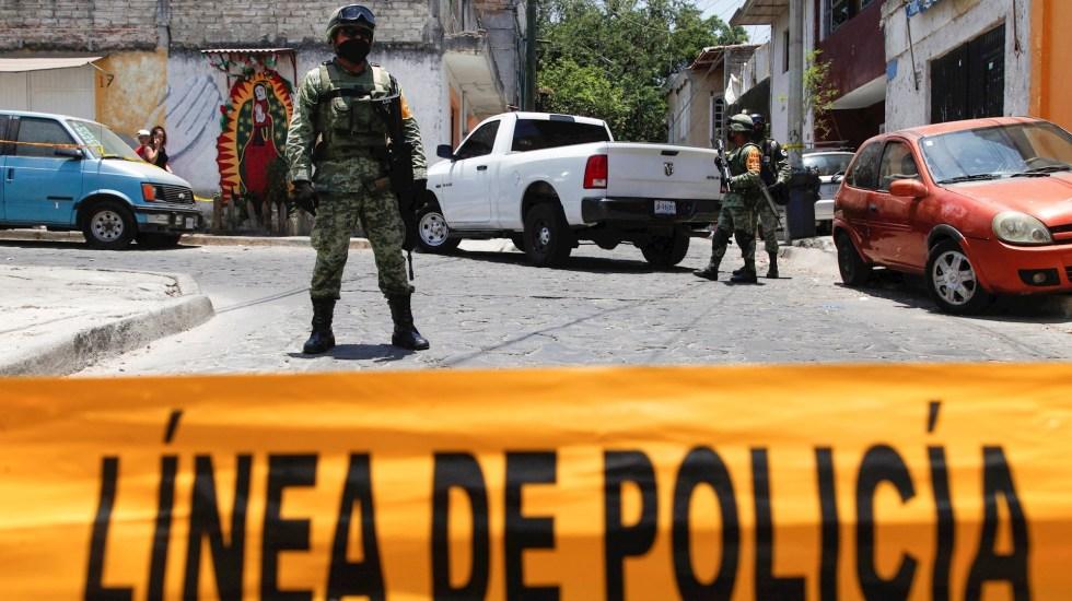 Balaceras en Guadalajara dejan nueve muertos - Guadalajara Jalisco disparos ataques violencia