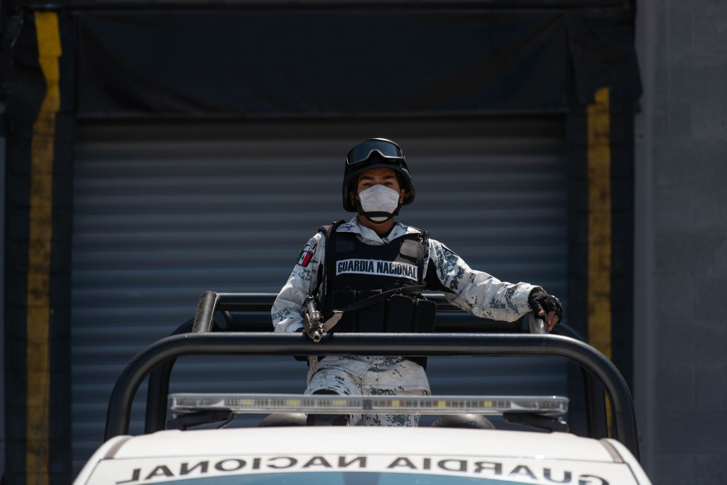 Buscan en Chiapas al menos 48 armas robadas a la Guardia Nacional - fuerzas armadas