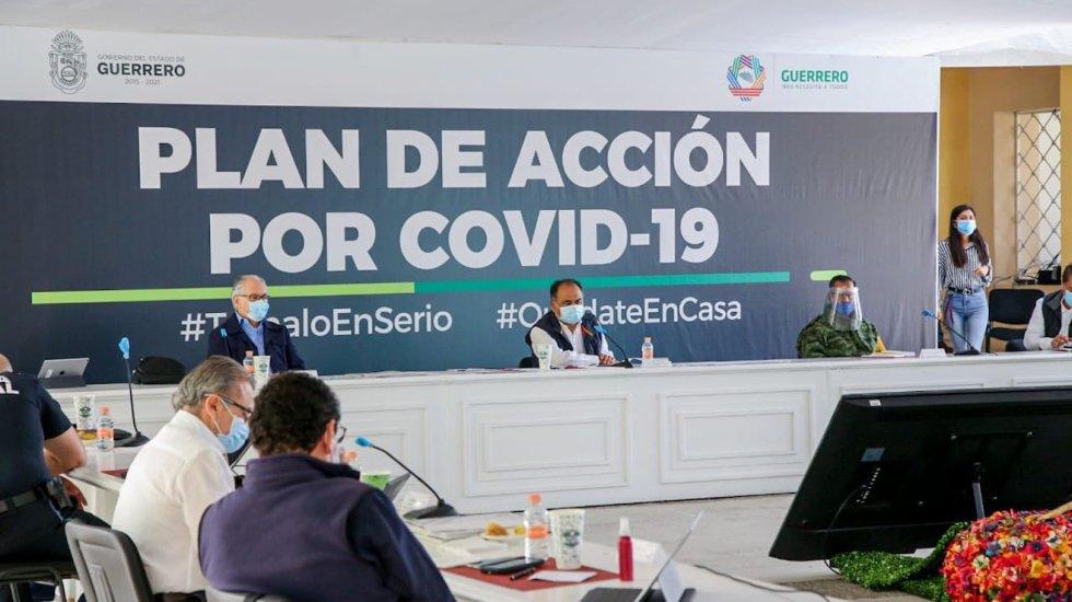 Movilidad en espacios públicos no se ha reducido lo suficiente en Guerrero, lamenta Astudillo - Foto de Twitter Héctor Astudillo