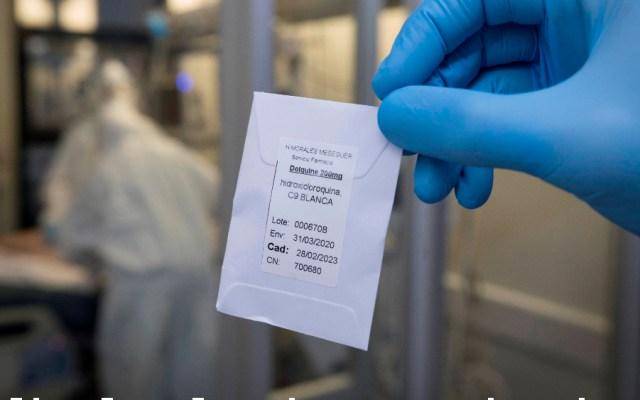 OMS anuncia reanudación de ensayos clínicos con hidroxicloroquina - hidroxicloroquina covid19 coronavirus