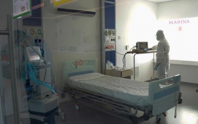 Sedena y Marina cuentan con 124 hospitales preparados para fase crítica de COVID-19 - Foto de @SEMAR_mx