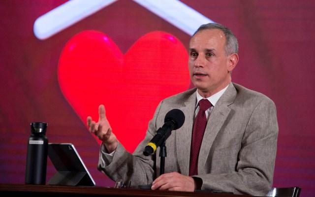 OMS postula a López-Gatell para integrar grupo de expertos sobre COVID-19 - Hugo López-Gatell Subsecretario Salud