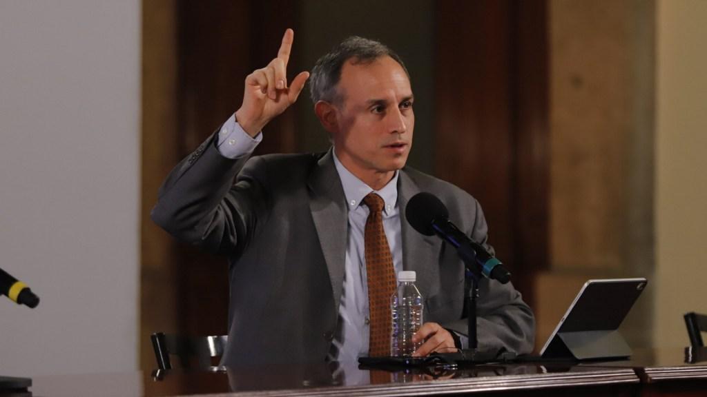 López-Gatell recita poema para fomentar la lectura durante contingencia - Hugo López-Gatell subsecretario Salud