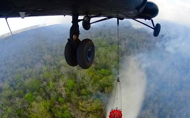 Incendios forestales afectan a 15 entidades en México - Incendios forestales Conafor autoridades La Ruina Ichkabal