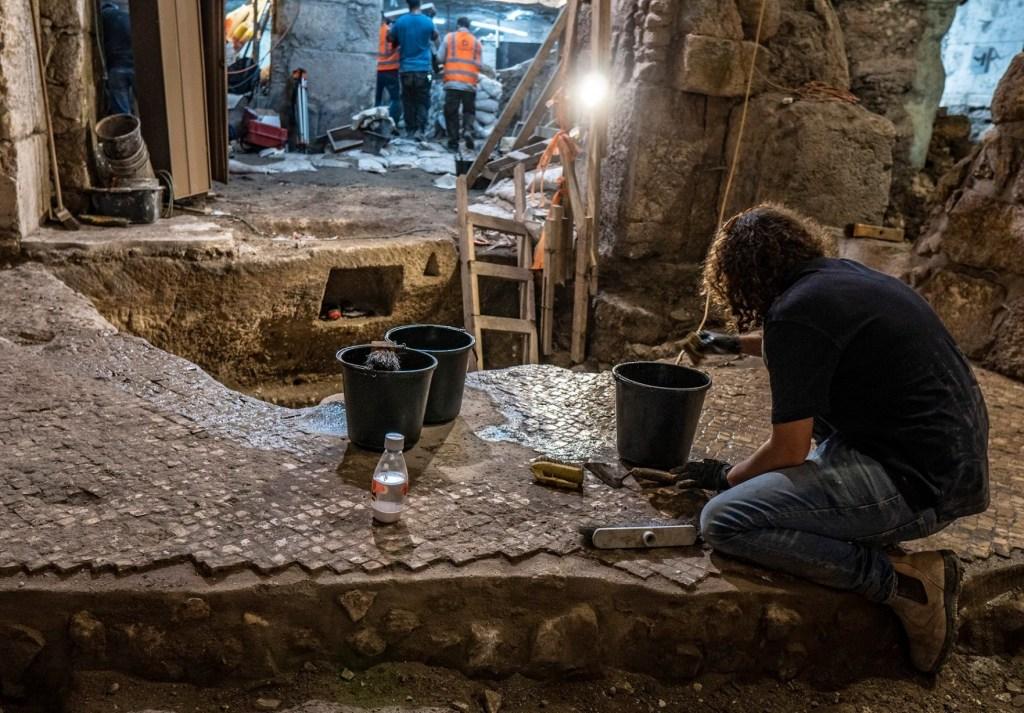 Encuentran complejo subterráneo de hace dos milenios en la antigua Jerusalén - Foto de Autoridad de Antigüedades de Israel