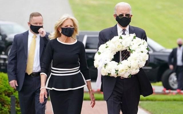 Joe Biden reaparece en público con cubrebocas y Trump lo critica - Joe Biden Estados Unidos Día de los Caídos