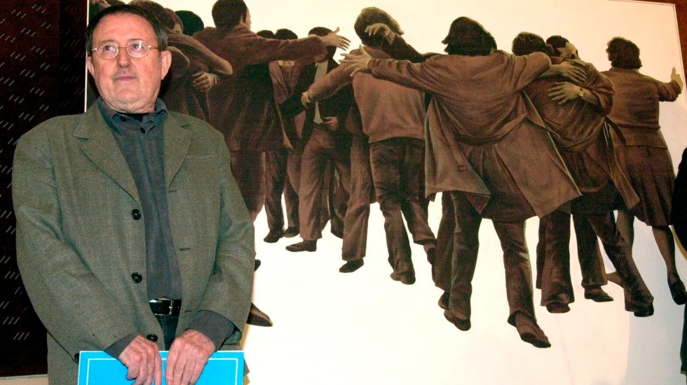Murió el artista español Juan Genovés, autor de 'El Abrazo' - Juan Genovés