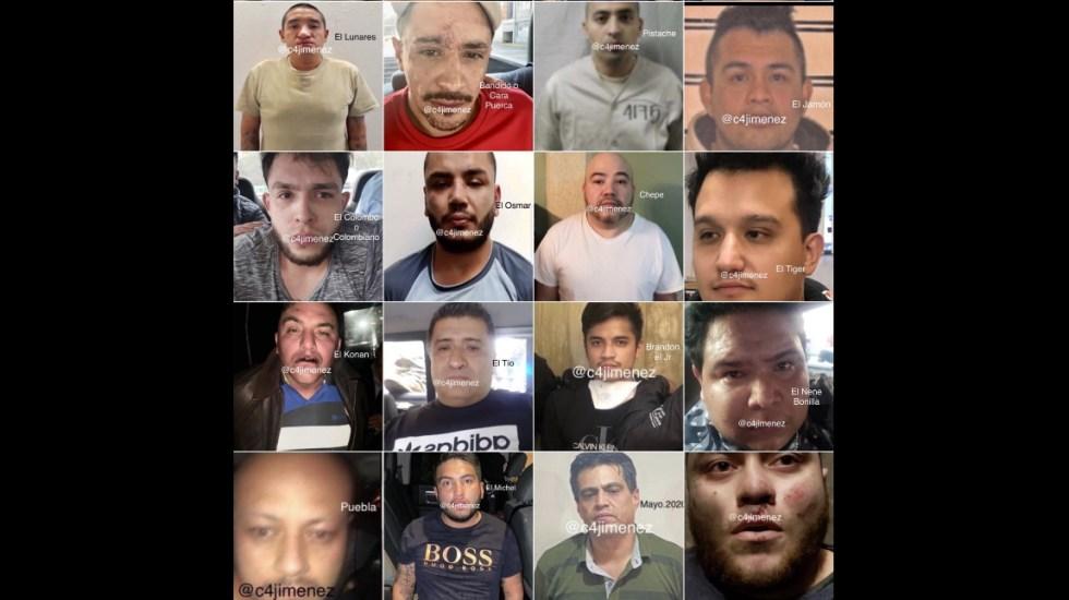 Los golpes de la SSC contra La Unión Tepito - La Unión Tepito SSC Ciudad de México detenidos