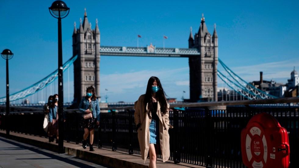 Reino Unido sufre pico de contagios diarios en seis meses, con 51 mil 870 infectados - Londres, Reino Unido, COVID-19