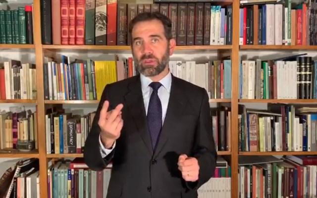 Reconoce Lorenzo Córdova a SCJN por hacer valer marco jurídico ante 'Ley Bonilla' - Lorenzo Córdova sobre fallo de la SCJN. Captura de pantalla / @lorenzocordovav