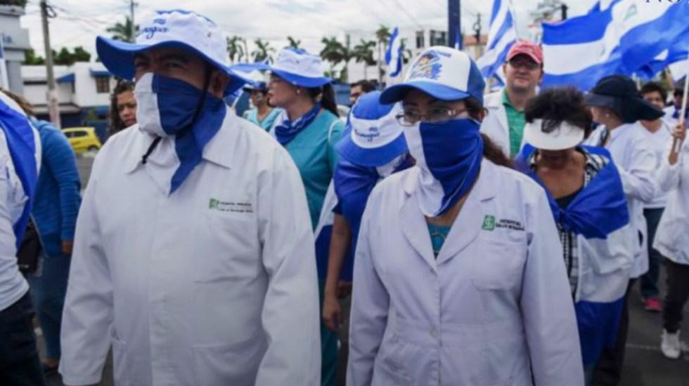 Médicos que ofrecen asesoría sobre el COVID-19 en Nicaragua reciben amenazas - Médicos de Nicaragua. Foto de 100 Noticias
