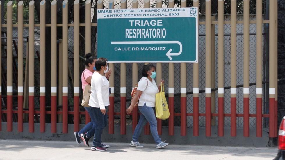 #Video COVID-19 todavía debe completar varios ciclos de transmisión en México: López-Gatell - Alrededores del Hospital de Especialidades Centro Médico Nacional Siglo XXI. Foto de Notimex-Romina Solís.Foto de Notimex-Romina Solís.