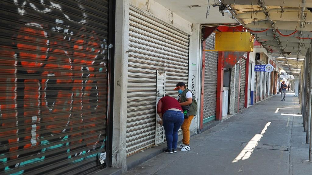 Semáforo Rojo en CDMX y Edomex será 'golpe final' para comercios, advierte Concanaco - Negocios Ciudad de México cerrados