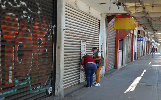 Piden a Sheinbaum mejorar estrategias ante COVID-19 - Negocios Ciudad de México cerrados