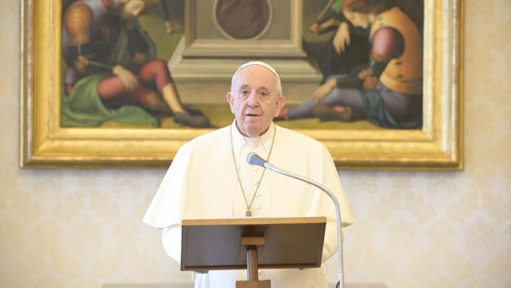 Papa Francisco lanza 'año especial' para reflexionar sobre el medioambiente - Papa Francisco desde la Biblioteca Apostólica. Foto de Vatican News