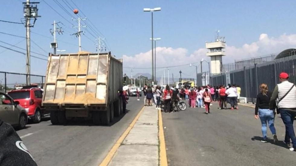 Riña en penal de Chalco deja cuatro lesionados - Foto de @luismiguelbaraa
