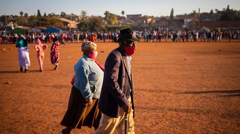 África supera los 3 mil muertos y los 100 mil contagios por COVID-19 - El continente africano suma 3 mil muertes por coronavirus y 100 mil 114 contagios