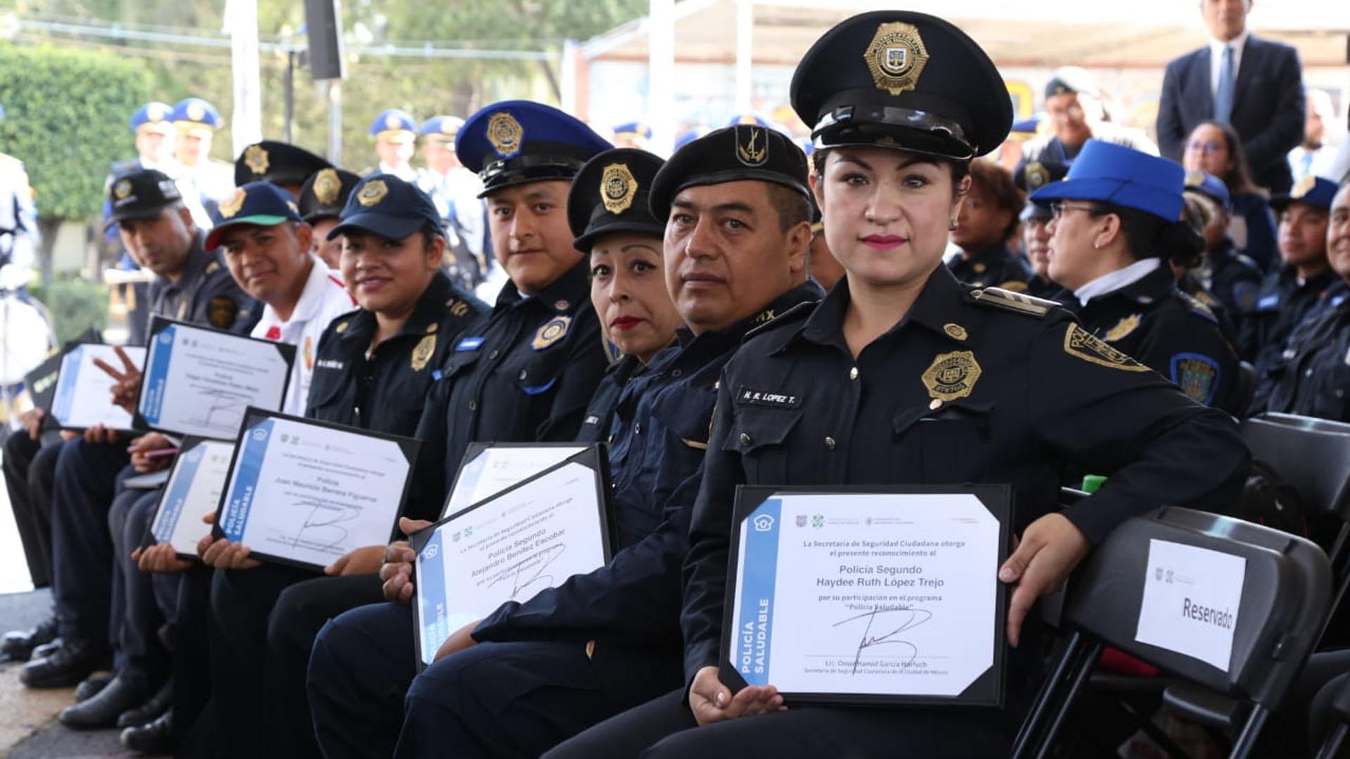 policías ssc peso