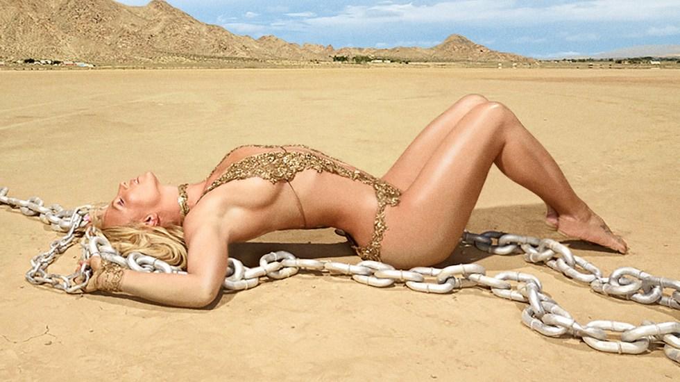 Britney Spears sorprende con 'Mood Ring', su nuevo lanzamiento - Portada del album 'Glory' de Britney Spears. Foto de @britneyspears