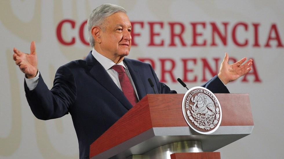 Donald Trump recibirá a López Obrador el 8 de julio, confirma la Casa Blanca - López Obrador en conferencia matutina. Foto de Notimex