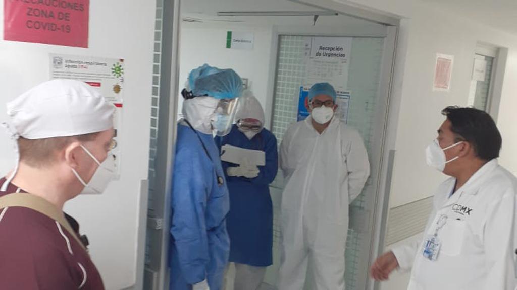 Gobierno capitalino suma cuatro hospitales para la atención del COVID-19 - Proceso de reconversión hospitalaria en el Hospital General Xoco. Foto de @SSaludCdMx