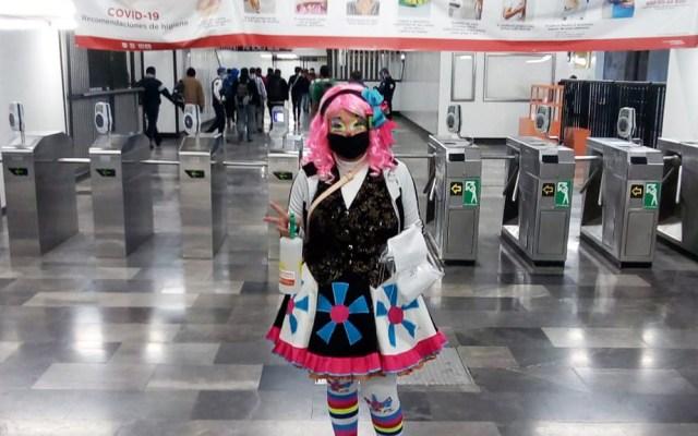 Metro lanza la campaña 'Que no te cargue el payaso' - 'Que no te cargue el payaso' es la nueva campaña del Metro para el uso de cubrebocas. Foto de @MetroCDMX