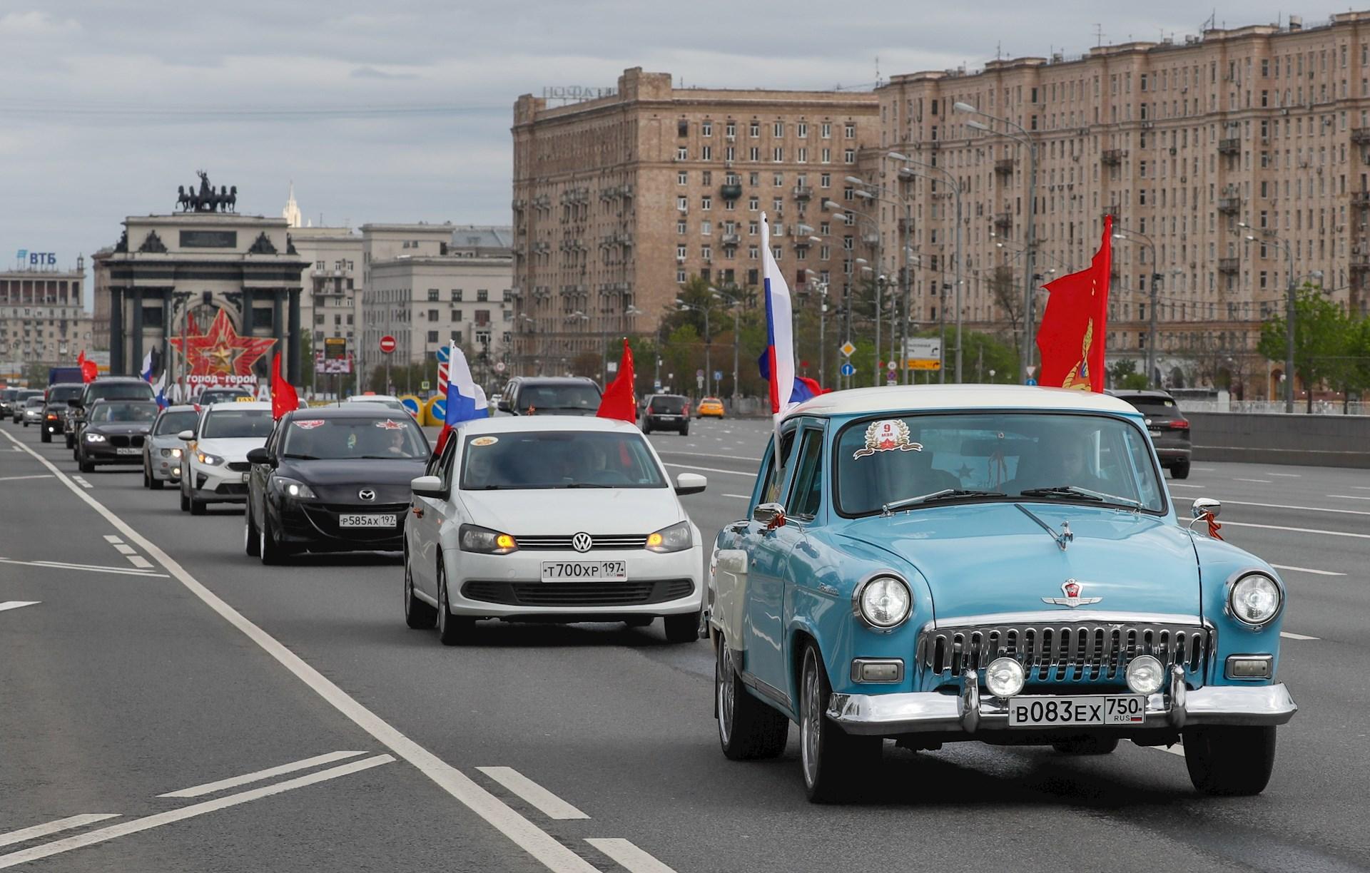 Rusia celebra el 75 aniversario de la victoria sobre la Alemania nazi