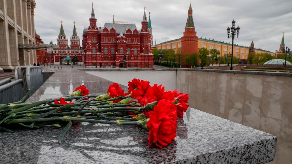 Rusia celebra victoria sobre Alemania nazi sin veteranos ni tanques - Rusia victoria Alemania nazi coronavirus COVID-19