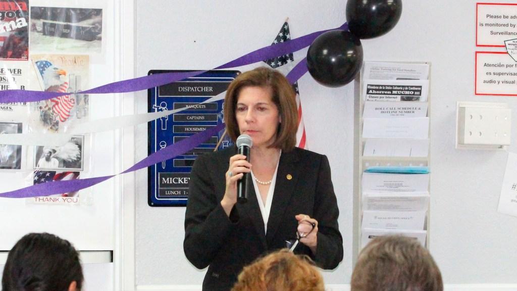 Senadora latina renuncia como posible vicepresidenta de Joe Biden - senadora demócrata por Nevada Catherine Cortez Masto