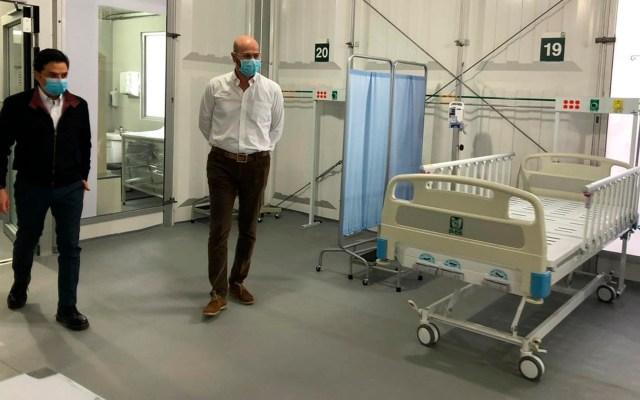 Habilitan hospital de expansión para pacientes con COVID-19 en la Ciudad de México - Subdelegación Norte IMSS Ciudad de México coronavirus COVID-19