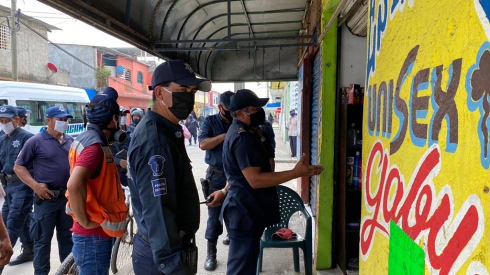 Tabasco paralizará actividad económica el fin de semana - Tabasco negocios paralización comercial