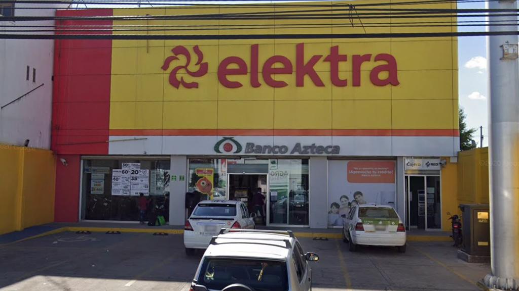 Elektra se compromete a cerrar mil 200 sucursales por COVID-19 - Tienda Elektra en el Estado de México. Foto de Google Maps