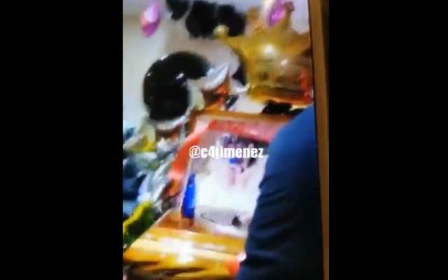 #Video Con música y champán velan a novia de La Unión Tepito - Velatorio La Unión Tepito funeraria