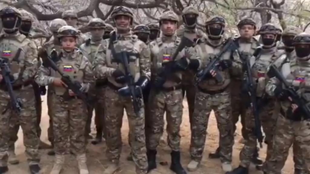 """Militares se adjudican """"invasión fallida"""" en Venezuela - Venezuela militares invasión Caracas Pantera"""