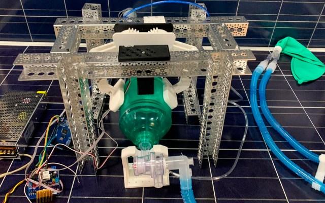 IPN desarrolla tres prototipos de ventiladores pulmonares - ventiladores IPN coronavirus COVID-19