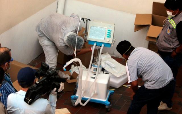 Fabricante español se deslinda por escándalo de respiradores en Bolivia - Foto de EFE