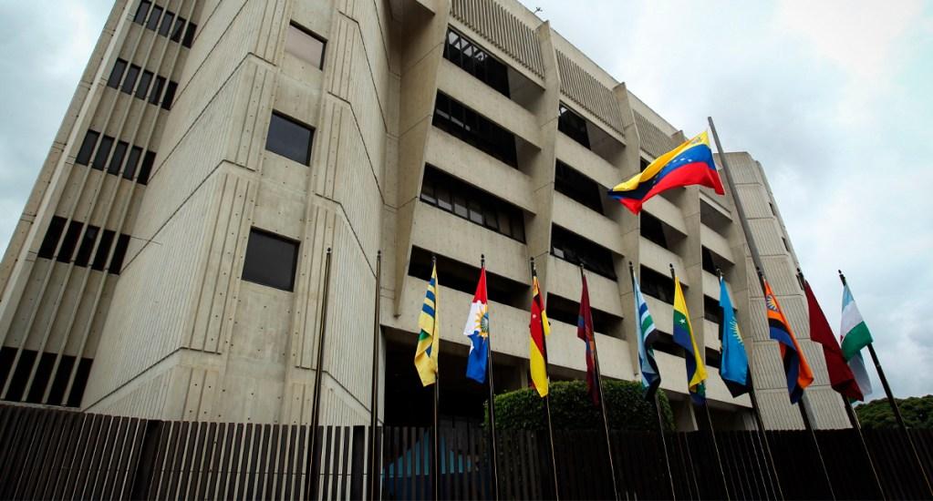 Prisión preventiva a 40 personas por ataque fallido en Venezuela - Vista del edificio del Tribunal Supremo de Justicia de Venezuela en Caracas