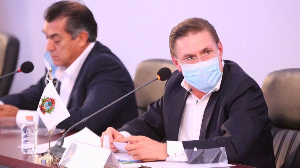 José Rosas Aispuro, gobernador de Durango, supera el COVID-19 - José Rosas Aispuro, gobernador de Durango.
