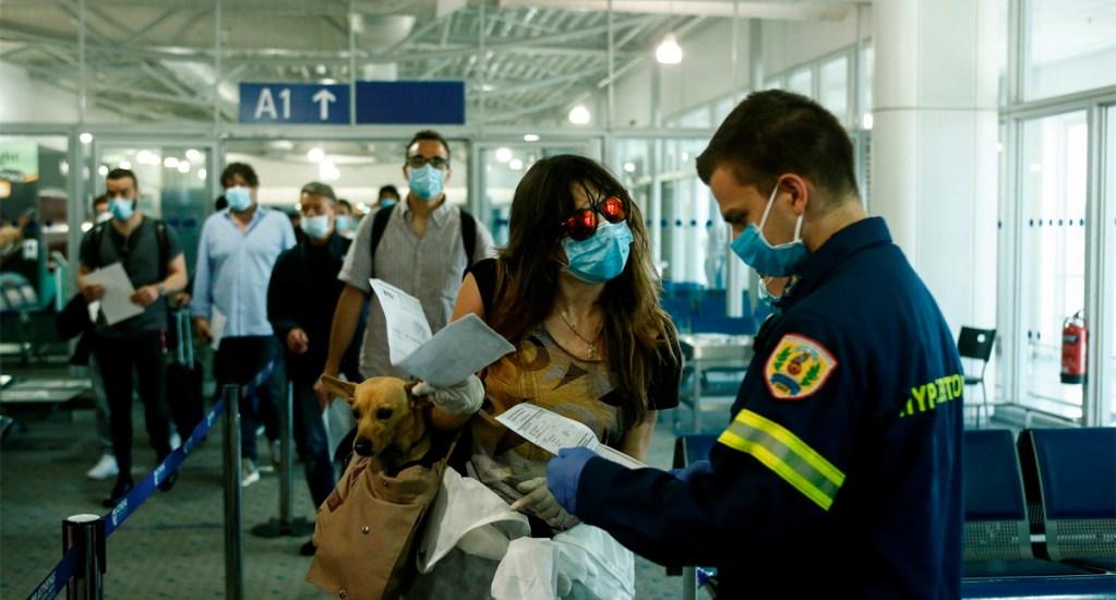 Cuarentena a turistas internacionales reduce demanda de viajes, advierte IATA - Aeropuerto Internacional de Atenas, Grecia